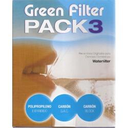 Pack recambios osmosis 5 etapas